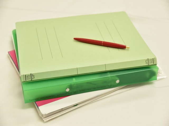 書類と資料