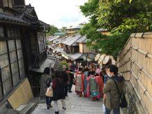 京都の人混み